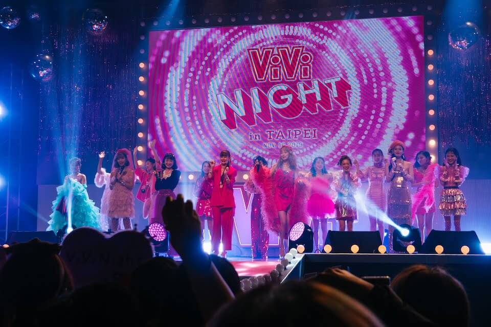 ViVi Night in Taipei 2019の様子